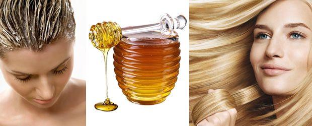 Питательная медовая маска для волос