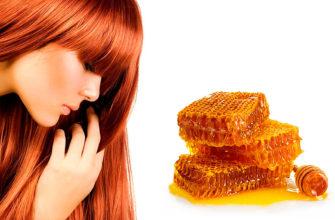 Уход за волосами с помощью меда
